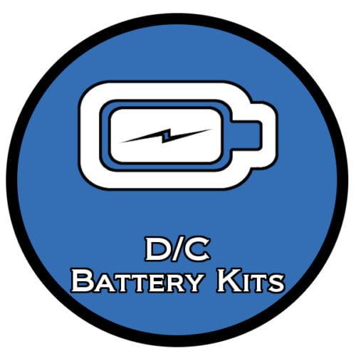D/C Battery ♦ Gun Safe Light Kits